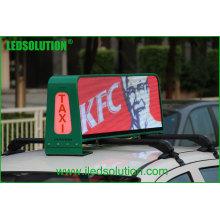 LEDSOLUTION P5 Écran LED à haut niveau de luminosité du taxi 3G