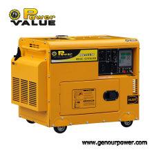 Leistungsstarke 3kVA 220V Ultra leise Dieselgeneratoren, Schalldichter Generator für den Heimgebrauch