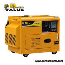 Power Value 3kVA 220V Ultra Silent Diesel Generators, Sound Proof Generator for Home Use