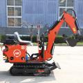 Chinese cheaper mini excavators 800kg 900kg new crawler excavator machine for sale