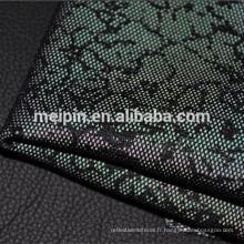 Tissu de haute qualité de maille d'air de polyester de 100% pour des chaussures de sport