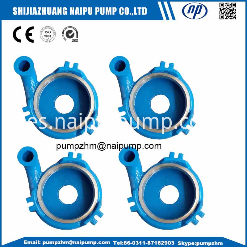 002 vertical slurry pump casing