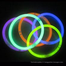 bracelet lueur tube
