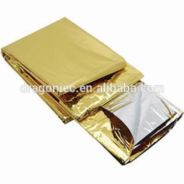 Оптовая термальный алюминиевый спасательного одеяла