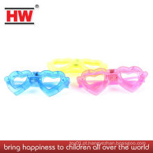 Crianças, brinquedo, óculos, super, luz