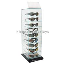 Advertising Eyewear Store Display Shelves For Exhibition, Retail Glass Display Shelves For Glasses