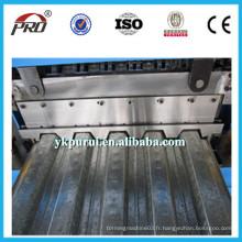Machine de plancher en acier inoxydable / Machine de formage de panneaux de plafond / Machine de plate-forme en acier Flopr