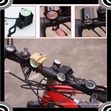 2015 POPPAS YZL864 Waterproof 600lm 1*T6 LED with 4*18650 Battery Bicycle Light Set