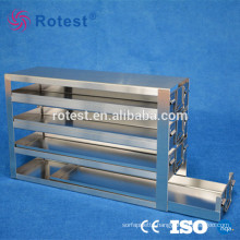 medical cryogenic freezer rack for 2 inch cryoboxes
