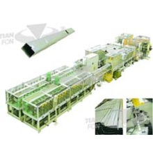 PLC Control Downspout Roll Forming Machine