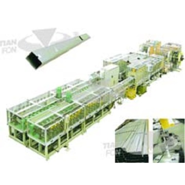 PLC Form Downspout Roll Forming Machine