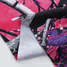 Print jersey knit wax african print fabric