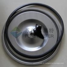 FORST Carbon Matel tampa do filtro do cartucho de poeira para a máquina coletora de poeira