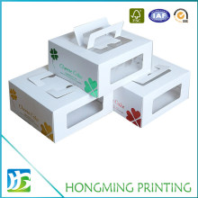 Take Away White Cardboard Food Packaging Box