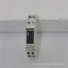 Einphasiger DIN-Schienen-Remote-Watt-Stunden-Stromzähler mit RS485
