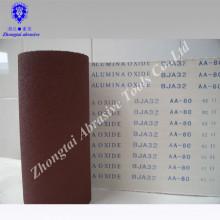 gute Qualität flexible Aluminiumoxid Schmirgelleinenrolle für Maschine
