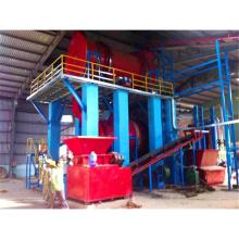 biomasa de cáscara de coco aserrín arroz cáscara de madera briquetas de carbón que hace la máquina