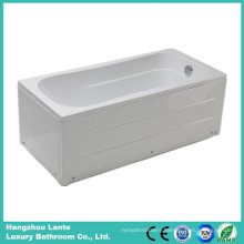 Acrylic Soaking Skirt Bathtub with Fiber Glass (LT-20Q)