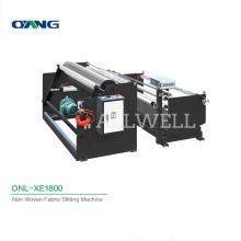 ONL-XE1800 Custom High Quality Non Woven Roll Cutting Nonwoven Slitting Machine