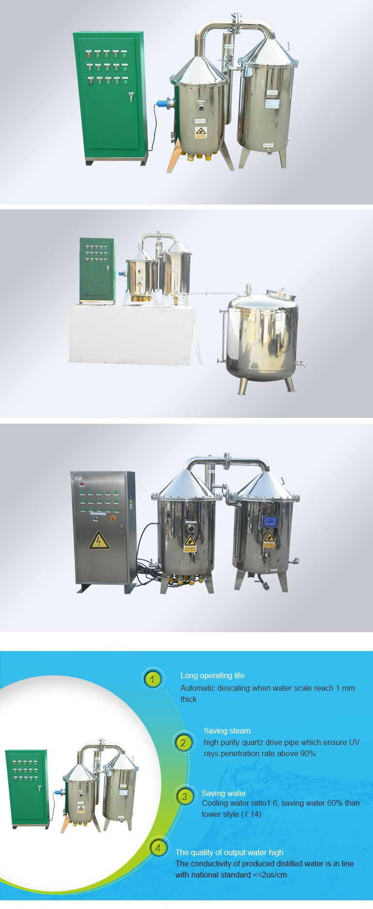 Electric heater Distiller