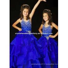 Robe de balon à bas prix à la robe bleue royale Robe de bal à la robe faite sur mesure CWFaf4786