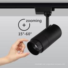 klassischer Zoom-Schienen-LED-Strahler GU10