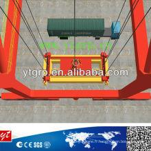 Grue à portique à conteneur double poutre 10t-50 / 10ton
