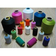 Fil de polyester de torsion d'air 100% filé