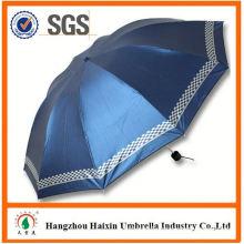 MAIN PRODUCT!! Custom Design 3 fold manual umbrella 2015