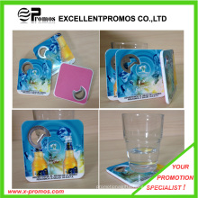 New Style PS Coaster with Bottle Opener (EP-C65511)