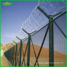 Professional anti-corrosion airport fence with Y post support