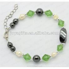Reloj de pulsera de perlas de moda