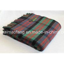 Mezclilla tejida 50% lana y 50% mezcla de lana acrílica Mantas y tiros