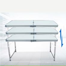 Venda quente ajustável mesa de piquenique ao ar livre mesa de dobramento à venda