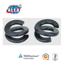 Black Treated Double Spring Washer