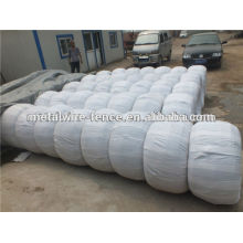 zinc coated galvanized iron wire(40-60/m2) made in Chian