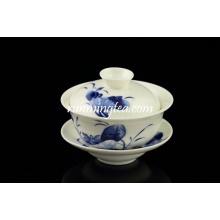Salons de thé à lotus populaires et soucoupes en gros