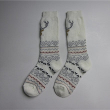 Hjort Jacquard Middle Socks