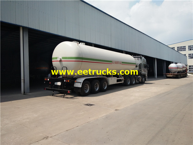 LPG Gas Trailer Tankers