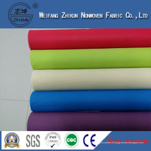 Tissu non-tissé imprimé de Spunbond de pp pour des sacs à provisions