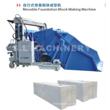 Cold Area Building Foundation Block Making Maschine