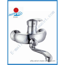 Brass Handle Kitchen Faucet Wall Mounted (ZR20703)