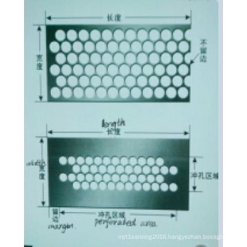 Round Holes Perforated Metal Mesh Factory for Many Uses