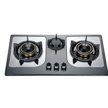 Cuisinière à gaz à trois brûleurs (SZ-LX-215)