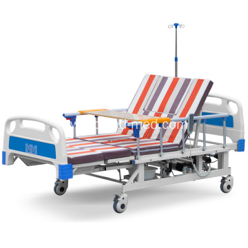 Hospital Luxury Muti-function  Electronic Nursing Bed Folding Bed