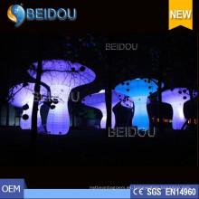 Fábrica personalizada LED iluminado inflables Juguetes Modelos Personajes Decoraciones de globo