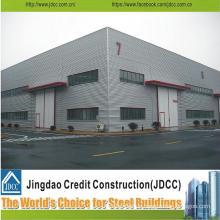 Prefabricated Steel Structure Car Showroom Design