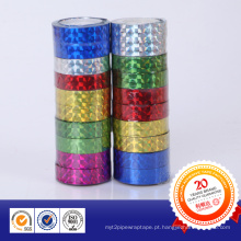 Fita reflexiva de laser colorido para artigos de papelaria