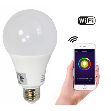 Lampadina WIFI RGB Modifica della lampadina intelligente