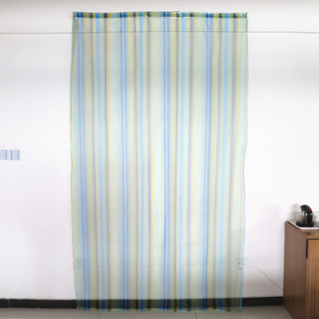 Colorful polyester fabric door curtain